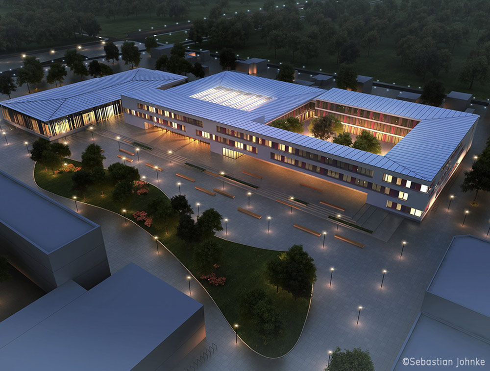 Rückbau / Neubau / Teilsanierung Apian-Gymnasium Ingolstadt