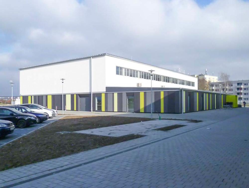 Ballspielhalle Permoserstraße in Ingolstadt