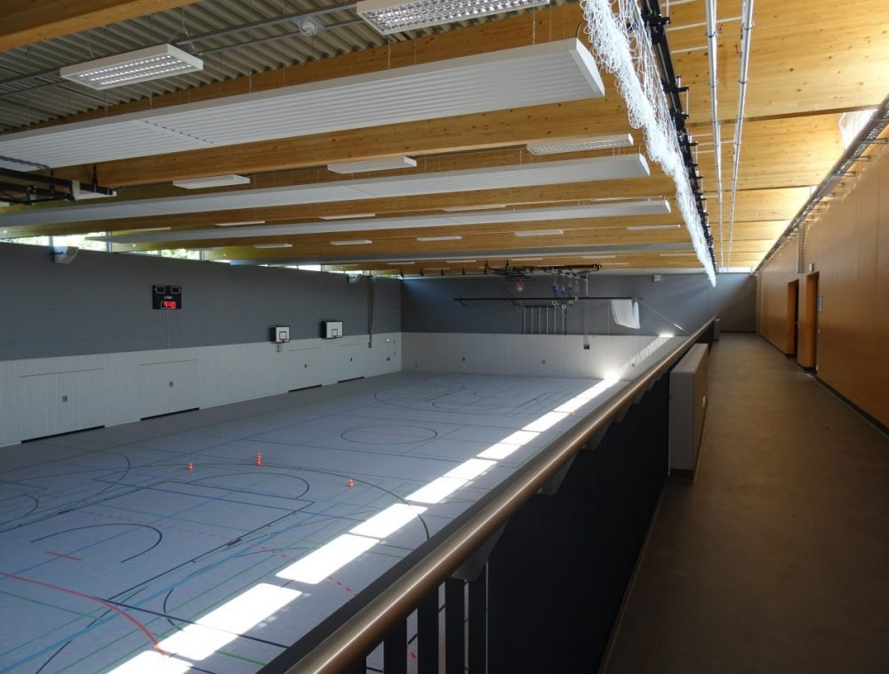 Ballspielhalle Zuchering