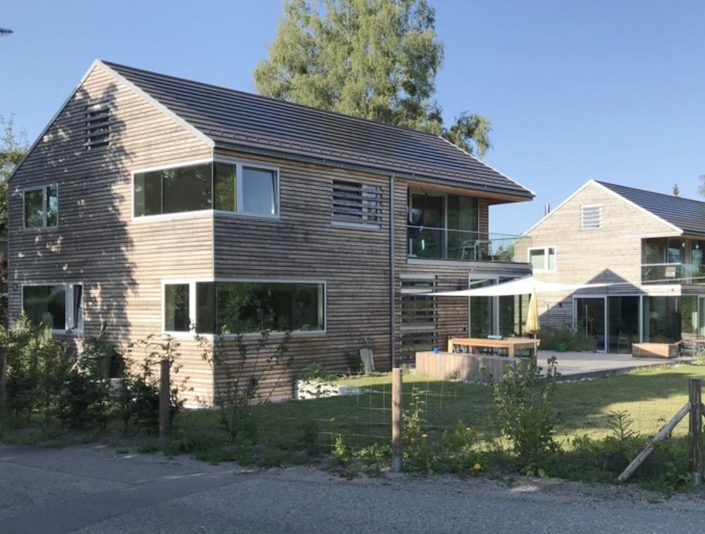 Neubau von zwei Einfamilienhäusern in Seeshaupt