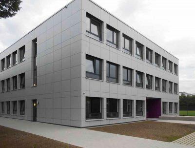 Europäische Schule München, Neubau Lila Provisorium