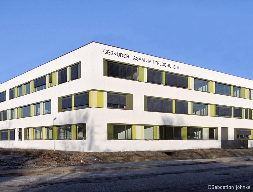 Neubau Gebrüder Asam Mittelschule Ingolstadt