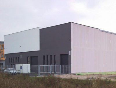 Neubau einer Lager- und Werkstatthalle in Gaimersheim