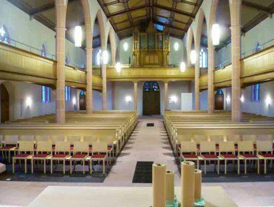 Umbau und Sanierung der Kirche in Eichstetten